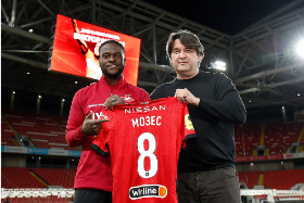 Confirmed : Victor Moses' Shirt Number At Spartak Moscow Revealed