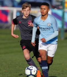 Sam Sodje's Nephew Catching The Eye At Manchester City With Two Goals In Two Games