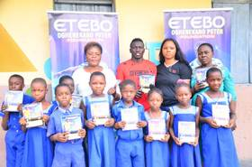 Etebo Foundation To Donate More Than Ten Thousand Textbooks To 64 Public Primary Schools In Delta State