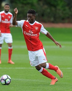 Promising Arsenal Winger Nathan Tella Eager To Play For Nigeria Ahead Of England