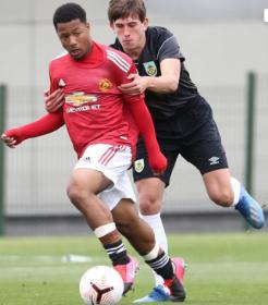 Man Utd's Dutch-Nigerian striker continues purple patch with goal and assist vs Leeds U18s