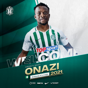 Official : Super Eagles Midfielder Onazi Joins Lithuanian Champions FK Zalgiris Vilnius