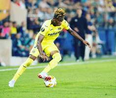 Samuel Chukwueze's New Shirt Number For 2019-2020 Season Revealed By Villarreal