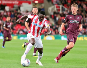 Nigeria Handed Injury Boost As Etebo Is Named In Stoke City's Matchday 18 Vs Reading