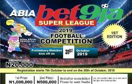 Abia State Bet9ja Super League : Myron Topclass Sports Outfits To Function As Consultants