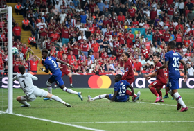 Chelsea Nigerian Fans Are All Saying The Same Thing About Abraham After Penalty Miss In UEFA Super Cup