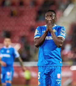 La Liga : Etebo Receives Third Yellow Card As Getafe Lose To Granada; Azeez Non-playing Substitute