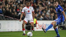 Exciting Midfielder Dubbed The New Mutiu Adepoju Retained By MK Dons