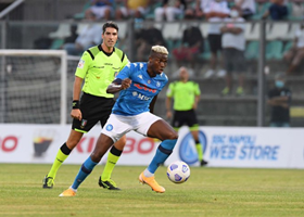 'He Runs, Shoots And Even Scores' - Pundit Says Napoli's Osimhen Is Living Up To His Billing