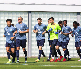 Photo : Pacy Super Eagles Fullback trains with Porto first team pre-Chelsea