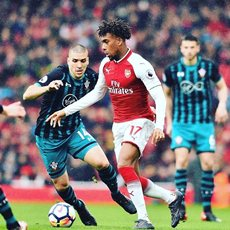 Iwobi Named In Arsenal's 25-Man Tour Squad To Singapore, Akpom Omitted Amid Transfer Link