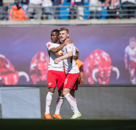 RB Leipzig Continue Pursuit Of First Bundesliga Title In Their Short History