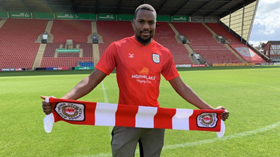 New Crewe Alexandra Signing Anene Reveals Secret Behind Jersey Number, Targets For The Season