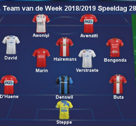 Taiwo Awoniyi Named In Belgian First Division A Team Of The Week