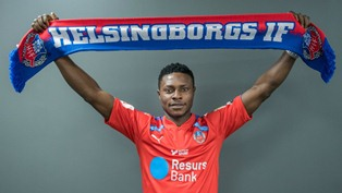 Official : Akpoveta Signs Two-Year Contract With Helsingborgs IF, Handed No. 18 Kit