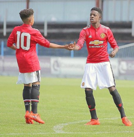 Manchester United Snatched Free-scoring Striker Odubeko From Under The Nose Of Manchester City