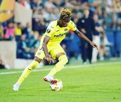 Relegation Battle : Villarreal Youngster Tops List of Nigerian Players Struggling for Survival