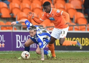 Osayi-Samuel Wins Blackpool MOTM Award After Netting First Career Brace