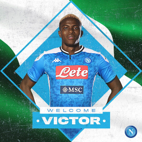 Done Deal : Napoli Announce Signing Of Lille Striker Victor Osimhen