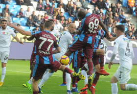 Trabzonspor's Anthony Nwakaeme On Target For The Third Game Running