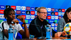 Nigeria Coach Dennerby Refuses To Answer Question On NFF Dropping His Assistant