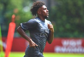 Iwobi Returns To Full Training With Arsenal After Missing Super Eagles Games
