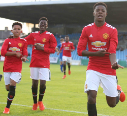 Nigerian Striker On Target In Shootout As Man Utd Qualify For Premier League National Finals