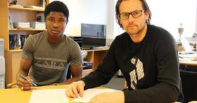 New Sonderjyske Signing Yahaya Hopes To Join Nigeria U20 Despite Controversial Omission