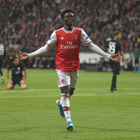Arsenal Coach Arteta Hails Saka For Offensive Contribution Against Everton