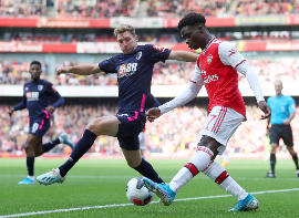 Arsenal Young Star Saka Continues To Impress, Rated Highly Vs Bournemouth By The English Press