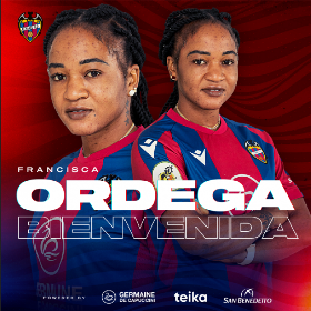 Confirmed : Three-time World Cupper Ordega joins Spanish-Nigerian striker at Levante