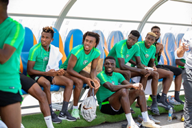 Super Eagles Recovery Session : Musa, Ighalo, Awaziem Suffer Knocks Vs RSA; Mikel Trains Fully; GKs Extensively Drilled; Shehu Not Involved