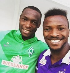 Austria Vienna Striker Kayode Recounts Europa League Adventure