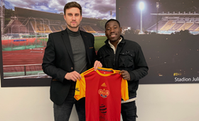 Photo Confirmation : Nigeria U23 Forward Joins Czech Club FK Dukla Prague