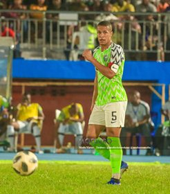 Super Eagles Handed Boost As Troost-Ekong Returns To Full Training Ahead Of Guinea Clash
