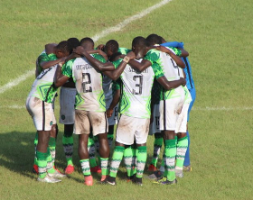 WAFU-UFOA Zone B Nigeria 1 Ivory Coast 1 : 10-Man Flying Eagles Throw Away Lead At The Death