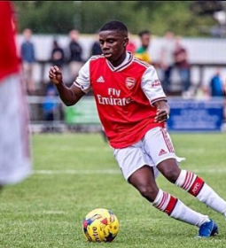 Oyedeji Opens Arsenal Account With Brace Vs Tottenham U18s; Two Assists For Azeez; Etete Strikes