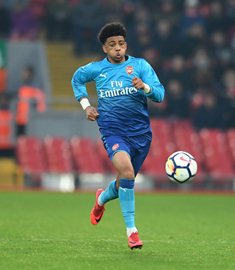 Amaechi Scores, Okonkwo Makes Crucial Saves As Arsenal Play Out Draw With Blackpool FAYC