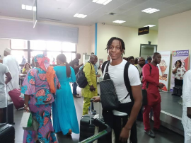 Breaking : Aribo Set To Become Cap-tied To Nigeria For Life, Lands In Uyo With 6 Super Eagles Stars