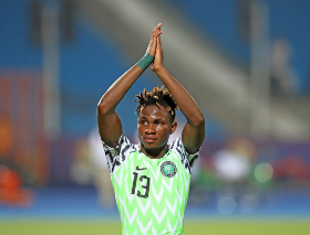Chukwueze Reveals The Advice He Got From Mikel, Musa Before MOTM Display Vs RSA