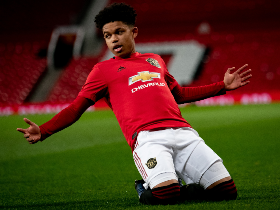 Shoretire Plays With Two Manchester United First Team Stars In 2-1 Win Vs Everton U23