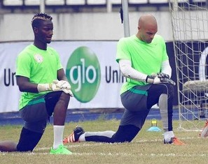 Image result for Carl Ikeme and Daniel Akpeyi
