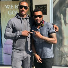 (Photo) Injured Odion Ighalo Cooling Off In Atlanta, United States