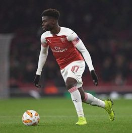Arsenal's Bukayo Saka Backed To Play For England Over Nigeria By Liverpool Hero