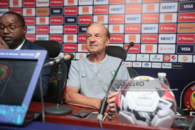 'He Can't Be Staying Home And Be Sleeping' - NFF VP Advises Rohr To Borrow A Page From Southgate