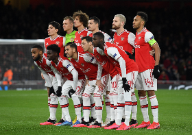 Saka Plays Full Game As Arsenal Bow Out Of Europa League After Shock Loss To Olympiakos