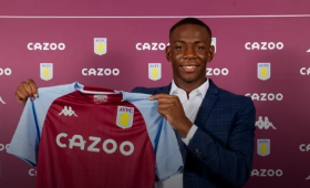 Done Deal : Talented Nigerian Striker Completes Transfer To Aston Villa