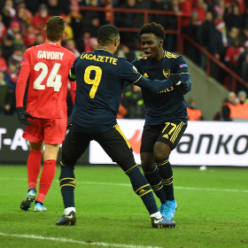 Excellent Arsenal Performance Earns Saka Rave Reviews From World Media After Draw Vs Standard Liege