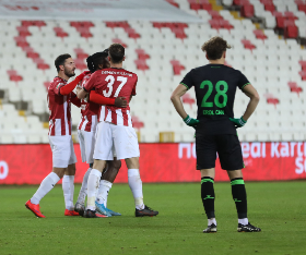 Super Eagles Striker Kayode Scores His First Goal In Domestic Competitions For Sivasspor