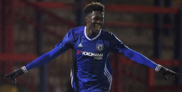 Ugbo Scores Fortuitous Goal As Chelsea Hit Swindon For Four in Checkatrade Trophy